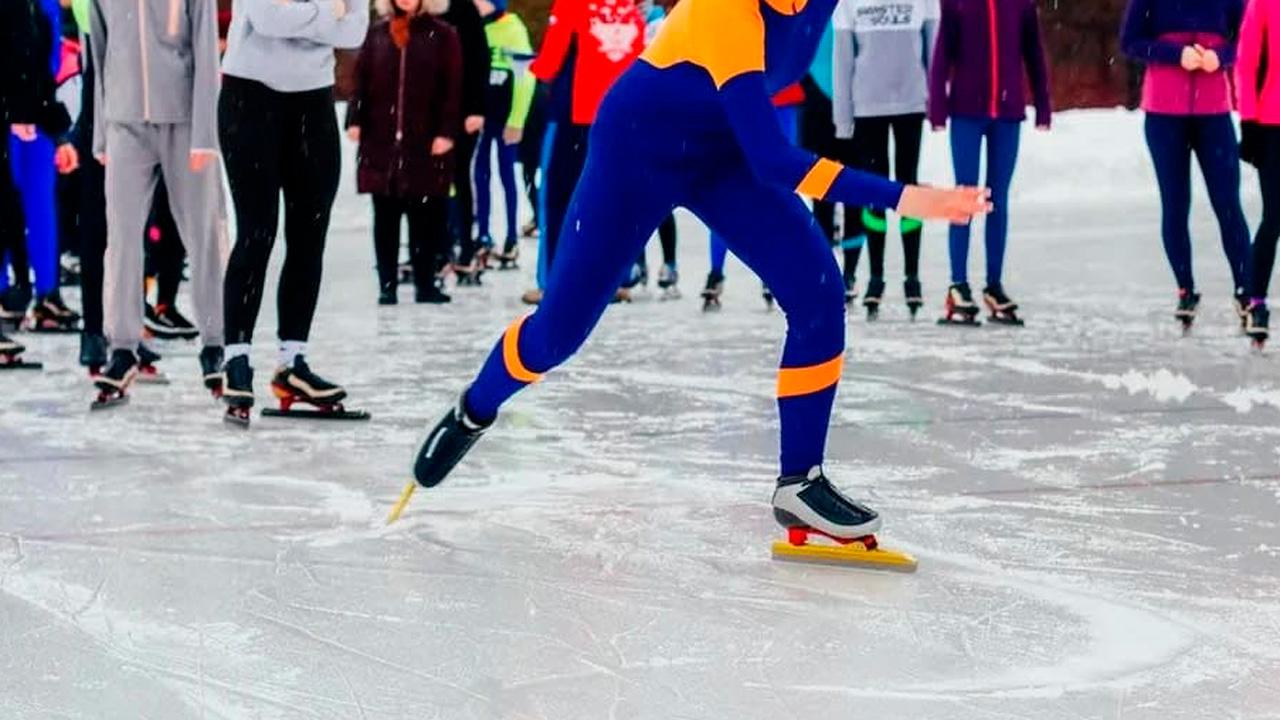Челябинск присоединился к всероссийским соревнованиям конькобежцев