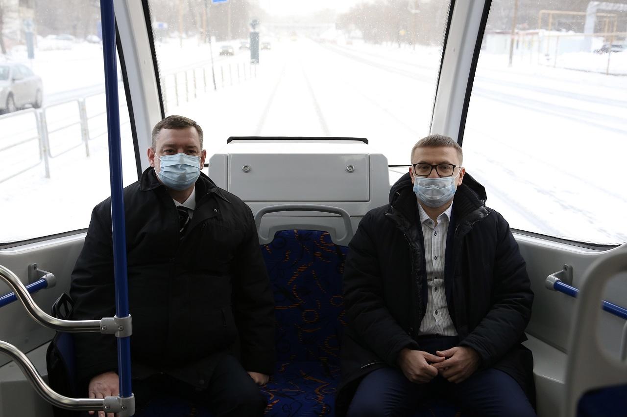 В добрый путь: как прошла обкатка нового трамвая в Челябинске