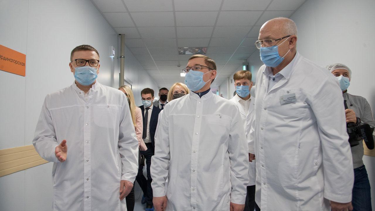 Инфекционная больница и экология: полпред президента Владимир Якушев посетил Челябинск