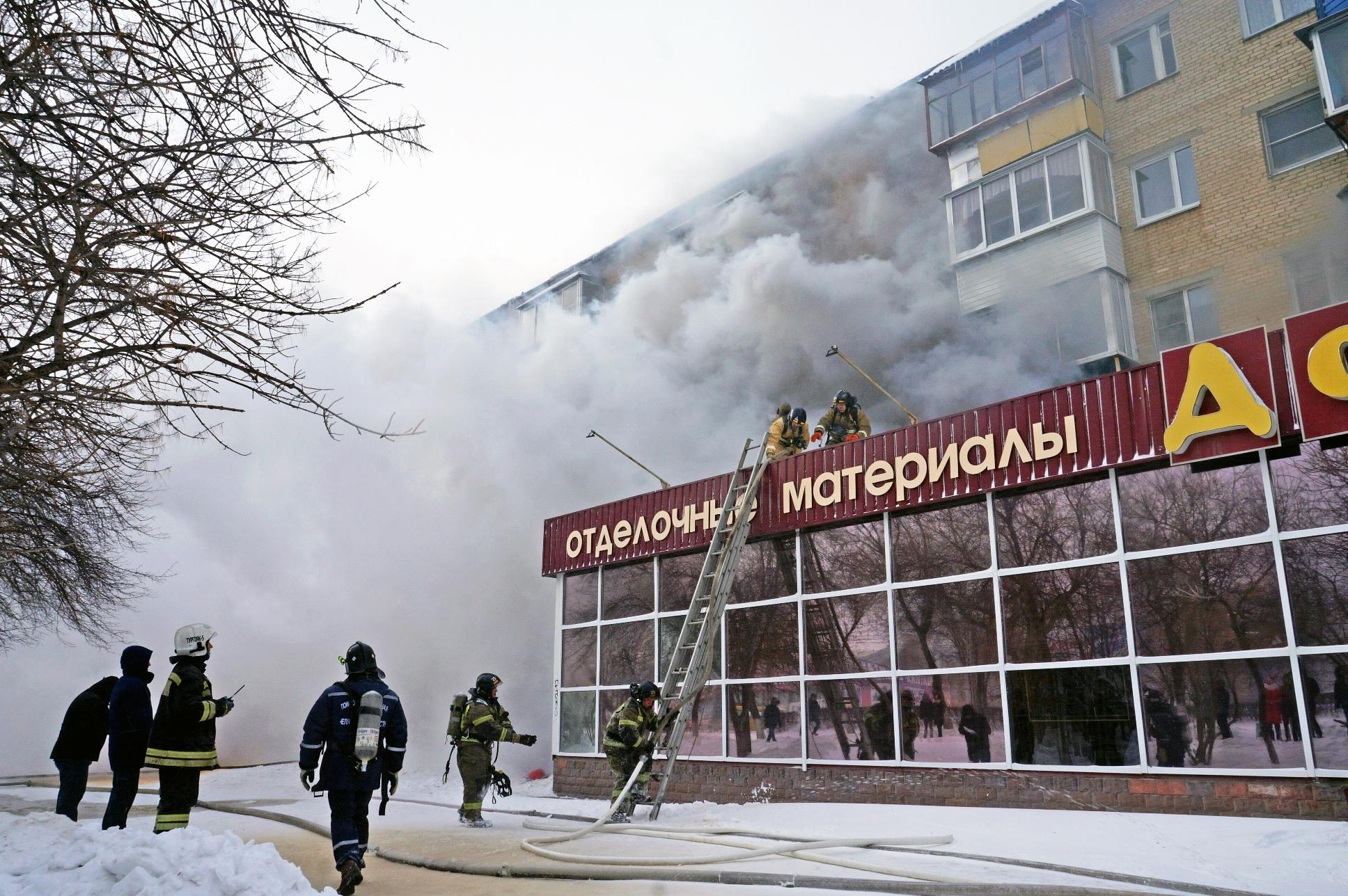 Страшное пекло: крупный пожар произошел в Челябинской области