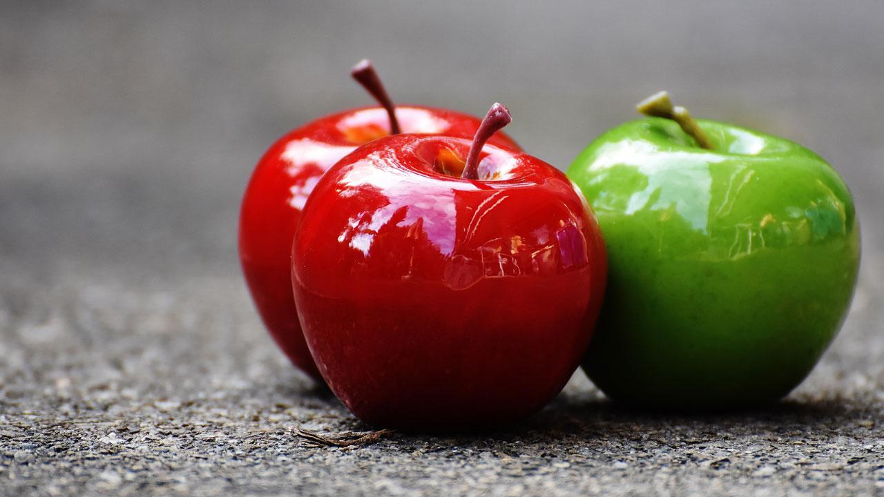 Зеленые фрукты полезнее красных: что думают диетологи