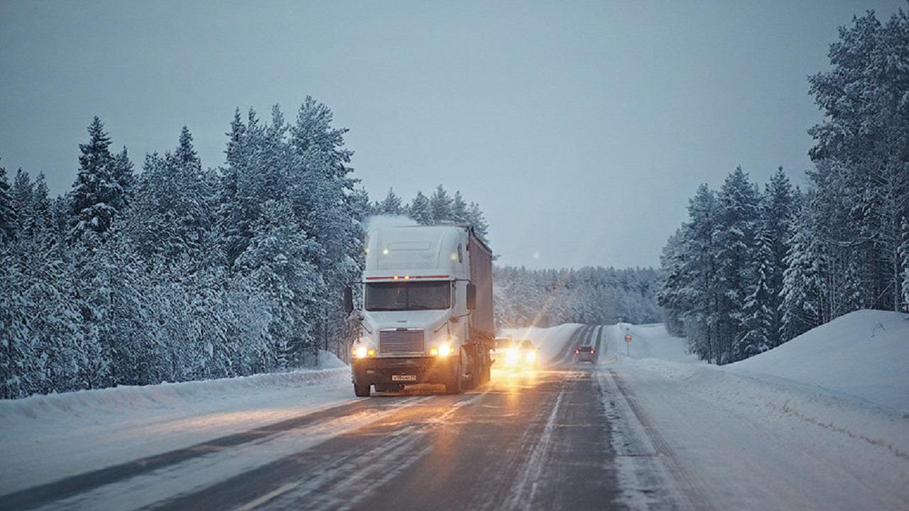 На трассе М5 в Челябинской области отменили ограничения для грузовиков