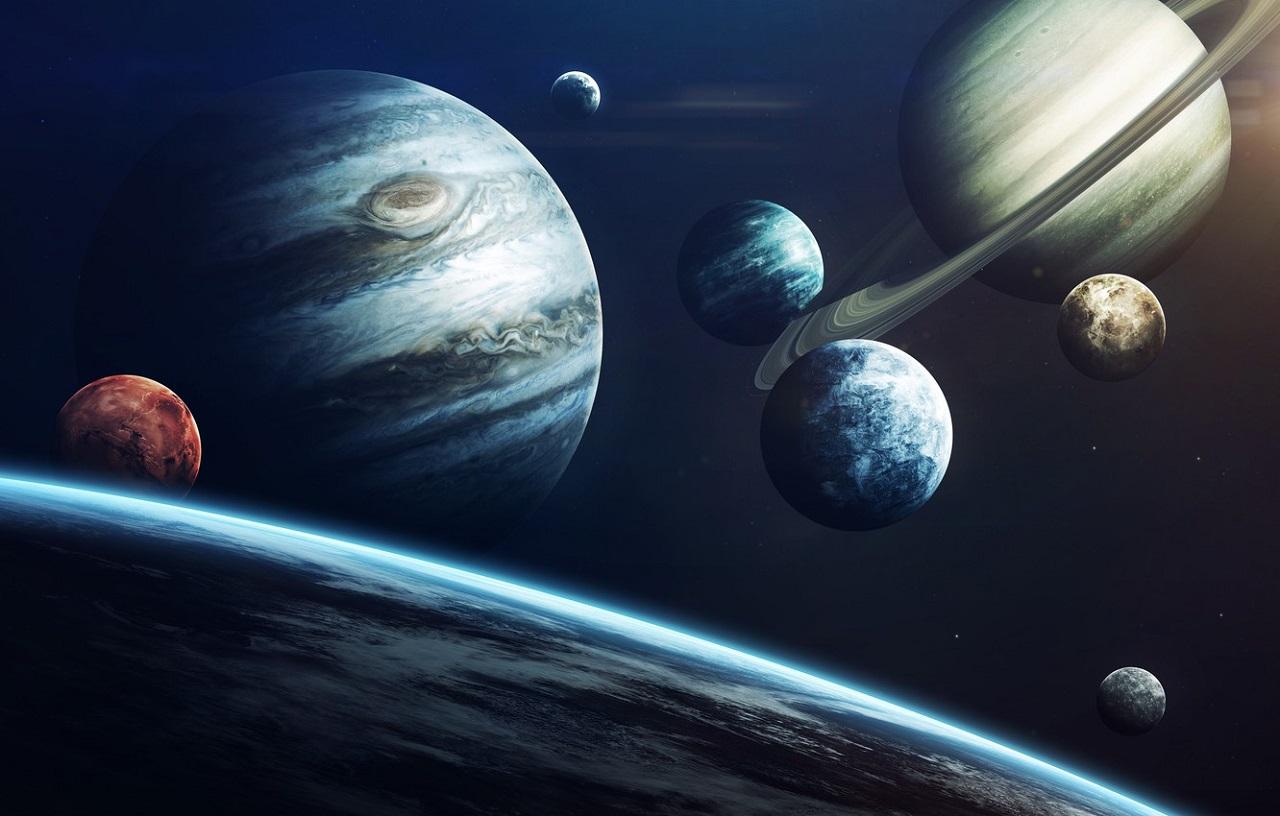 Парад планет 2021: Луна соединится с Сатурном и Юпитером
