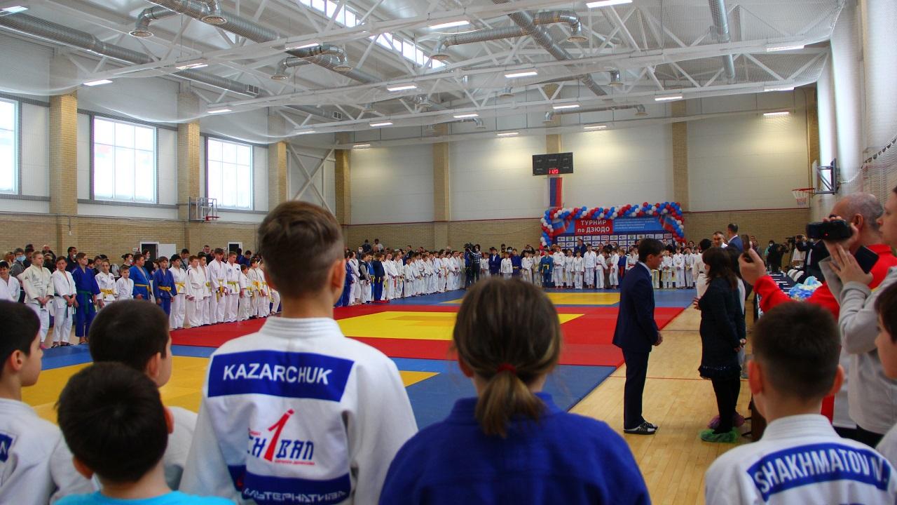 Кто самый сильный: на Южном Урале прошли соревнования юных дзюдоистов