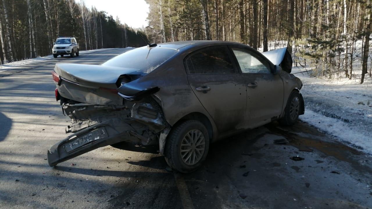 Уснул за рулем: тройное жесткое ДТП на Южном Урале с пострадавшими