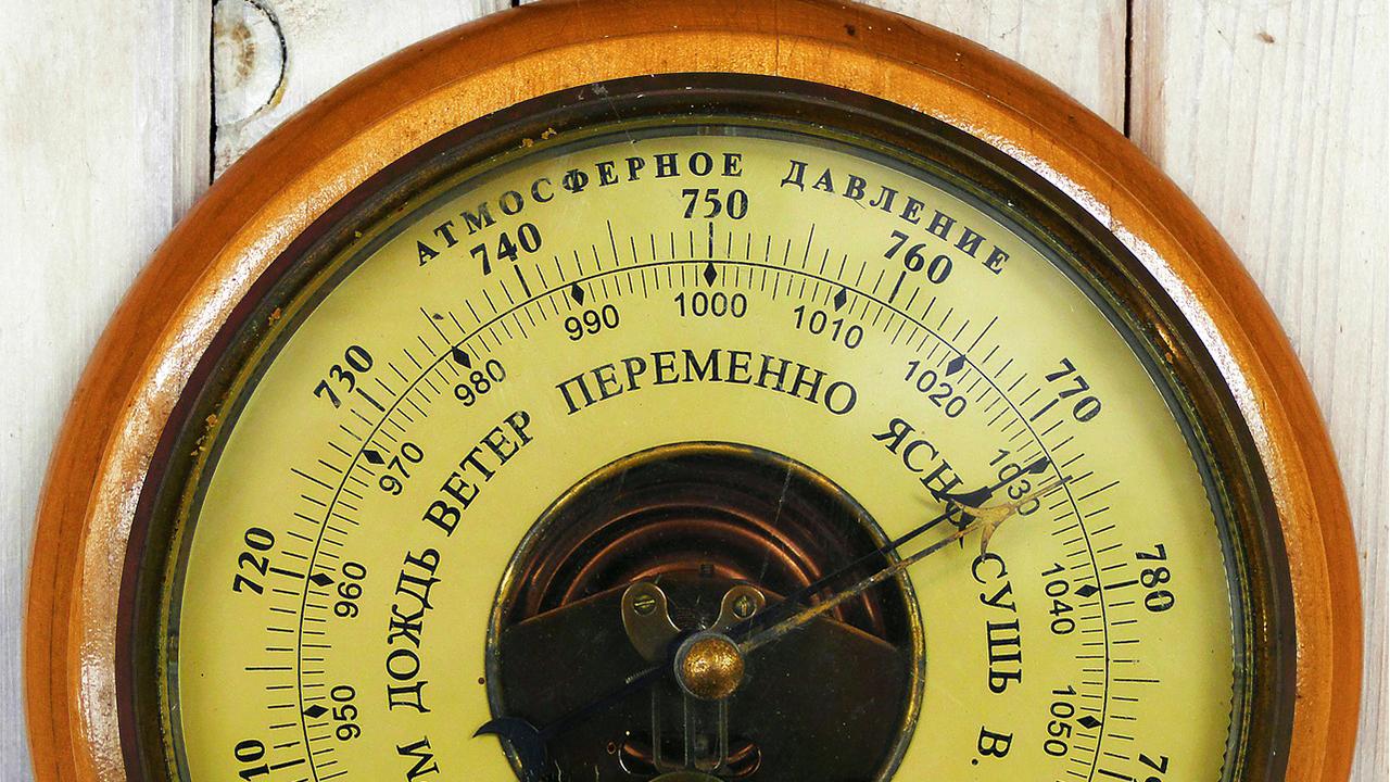 Атмосферное давление взлетит в Челябинской области