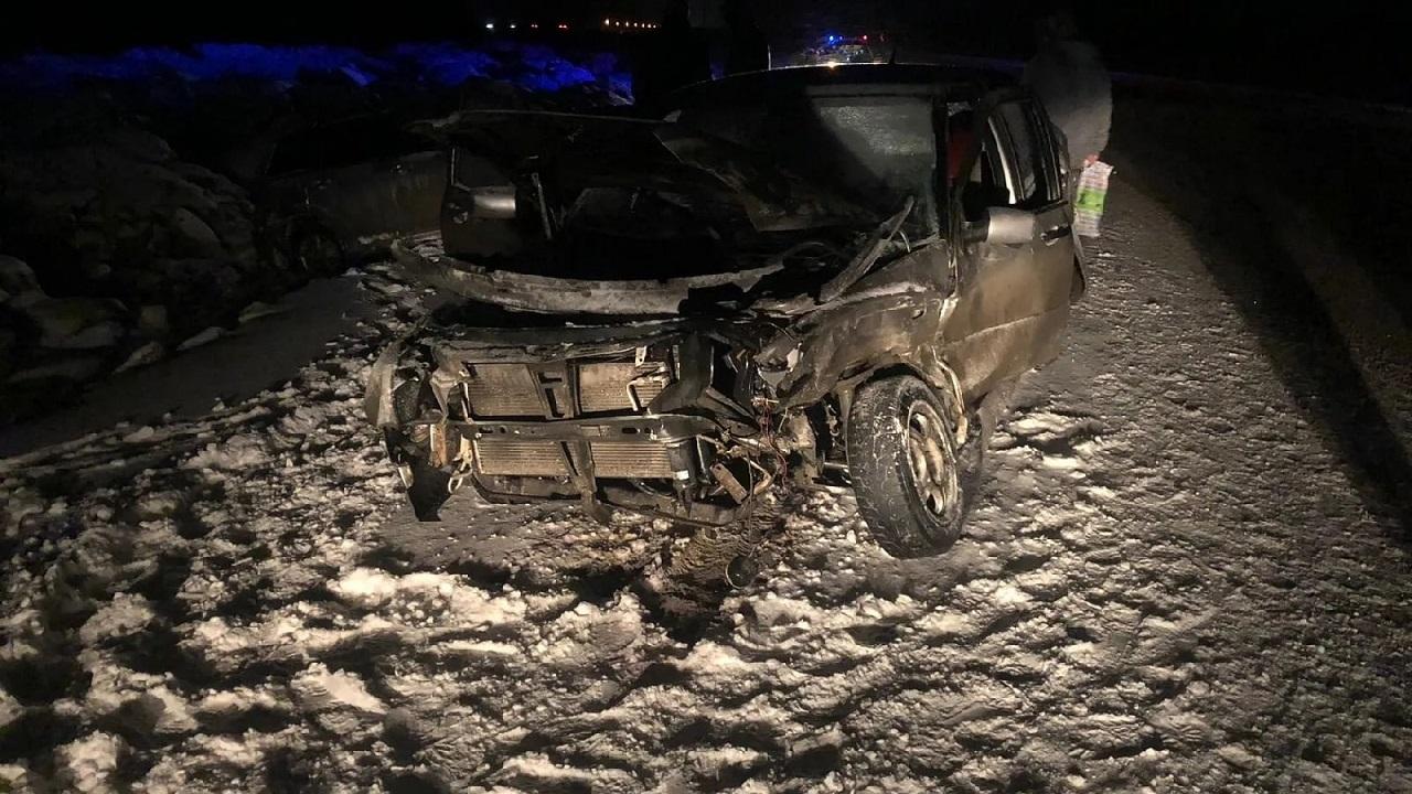 В Челябинской области в массовом ДТП столкнулись 5 машин