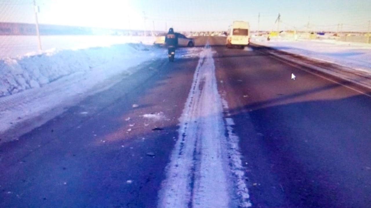 Осталась груда металла: после ДТП под Челябинском погиб один человек