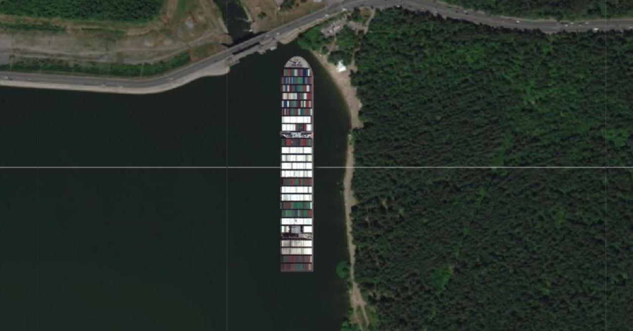 Размером с ТРК: что, если бы контейнеровоз Ever Given застрял в Челябинске