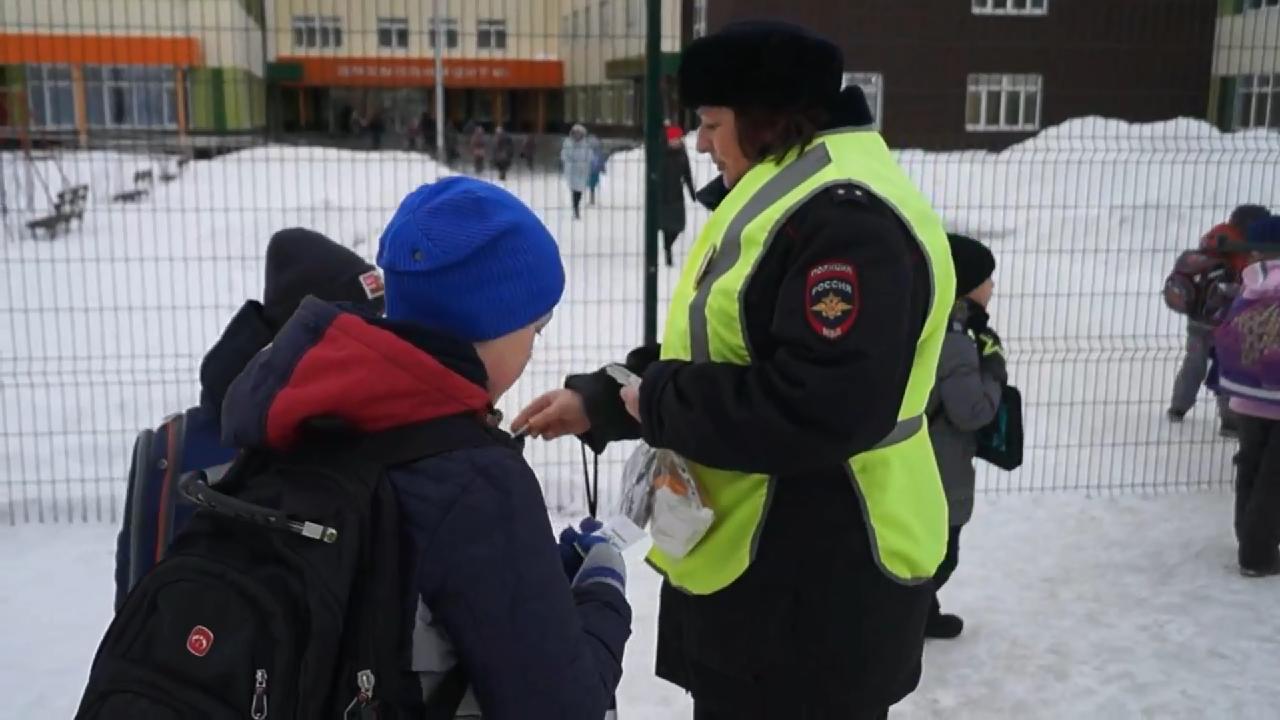 Безопасные каникулы: школьникам в Челябинске расскажут, как вести себя на дорогах