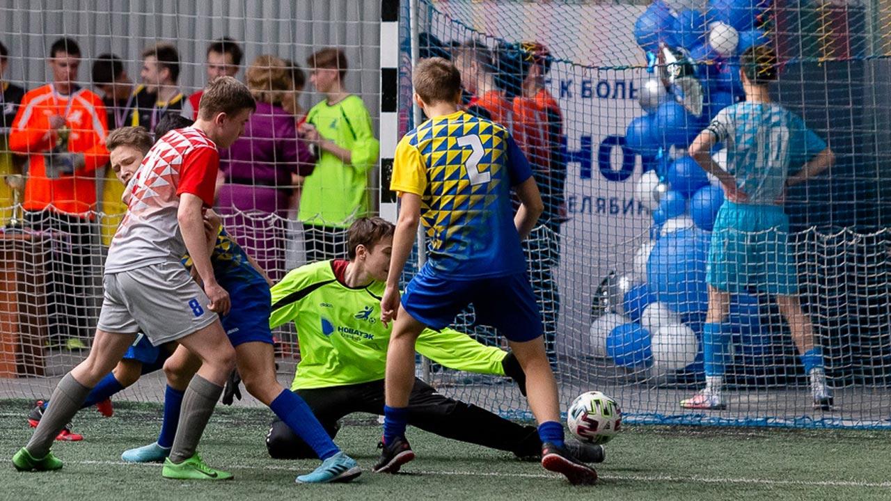 Борьба за стадион: в Челябинске прошел турнир по мини-футболу