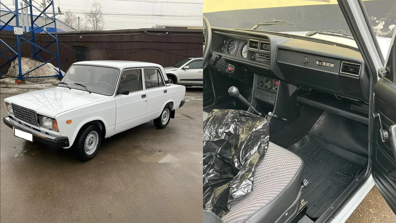 Пахнет новизной: «Жигули» из Челябинска продают за 1 млн рублей