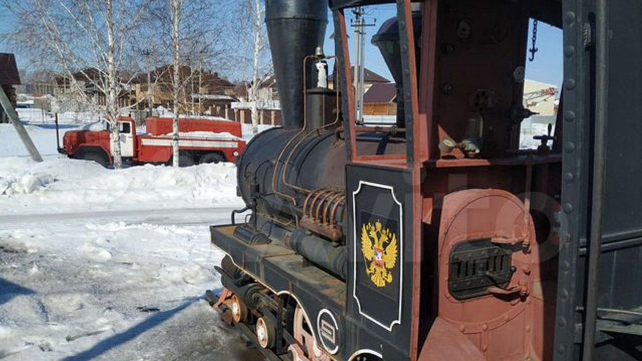 Шашлыки на колесах: мангал-паровоз за 500 тыс. продают в Челябинске