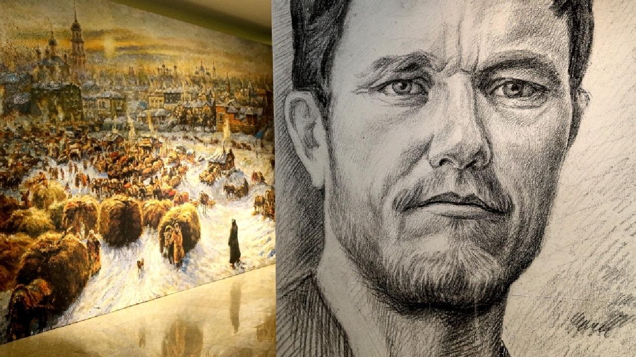 Закат старой Челябы: открылась выставка правдивого художника