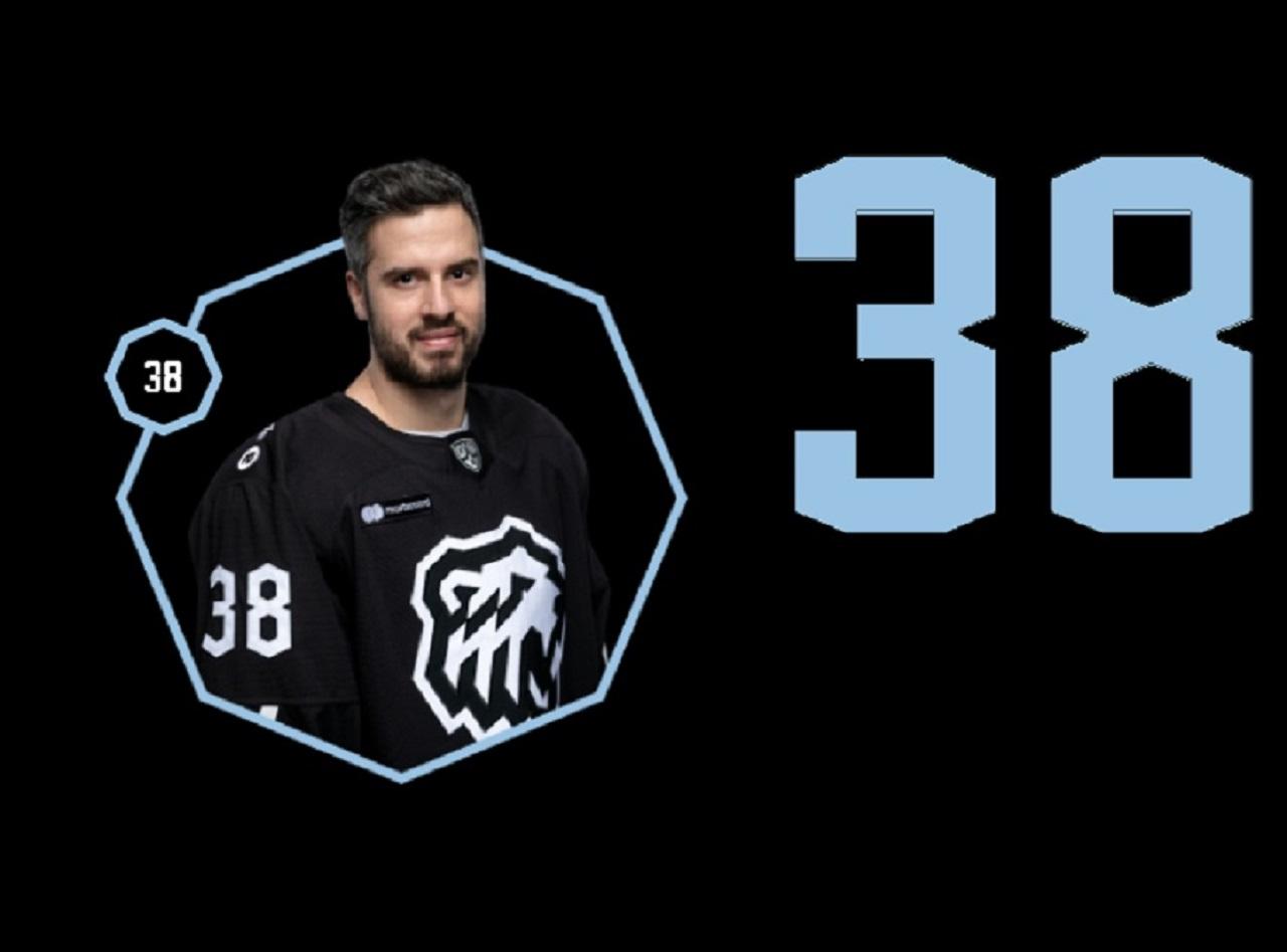Нападающий ХК «Трактор» Томаш Гика – лучший в сезоне 20/21, по версии болельщиков