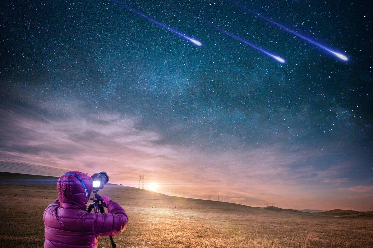 След кометы Галлея: когда и где можно увидеть уникальный звездопад в мае
