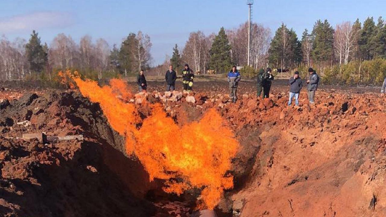 Взорвался газопровод: на трассе Магнитогорск – Уфа перекрыто движение