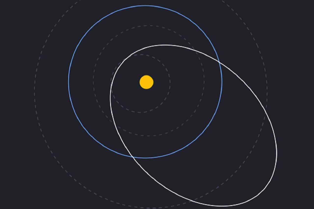 Размером с 4 небоскреба: гигантский астероид несется к Земле