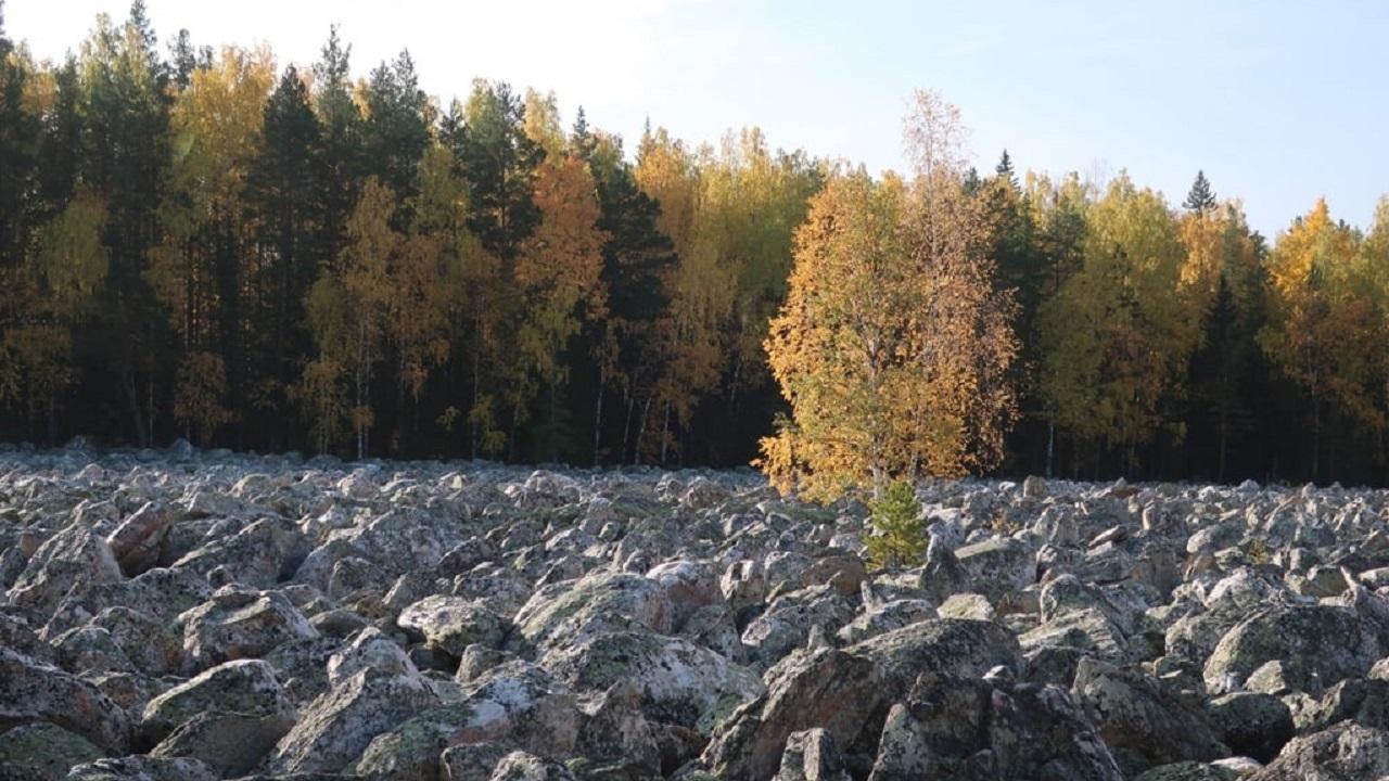 Под каменной рекой в Челябинской области проснулось древнее русло ВИДЕО