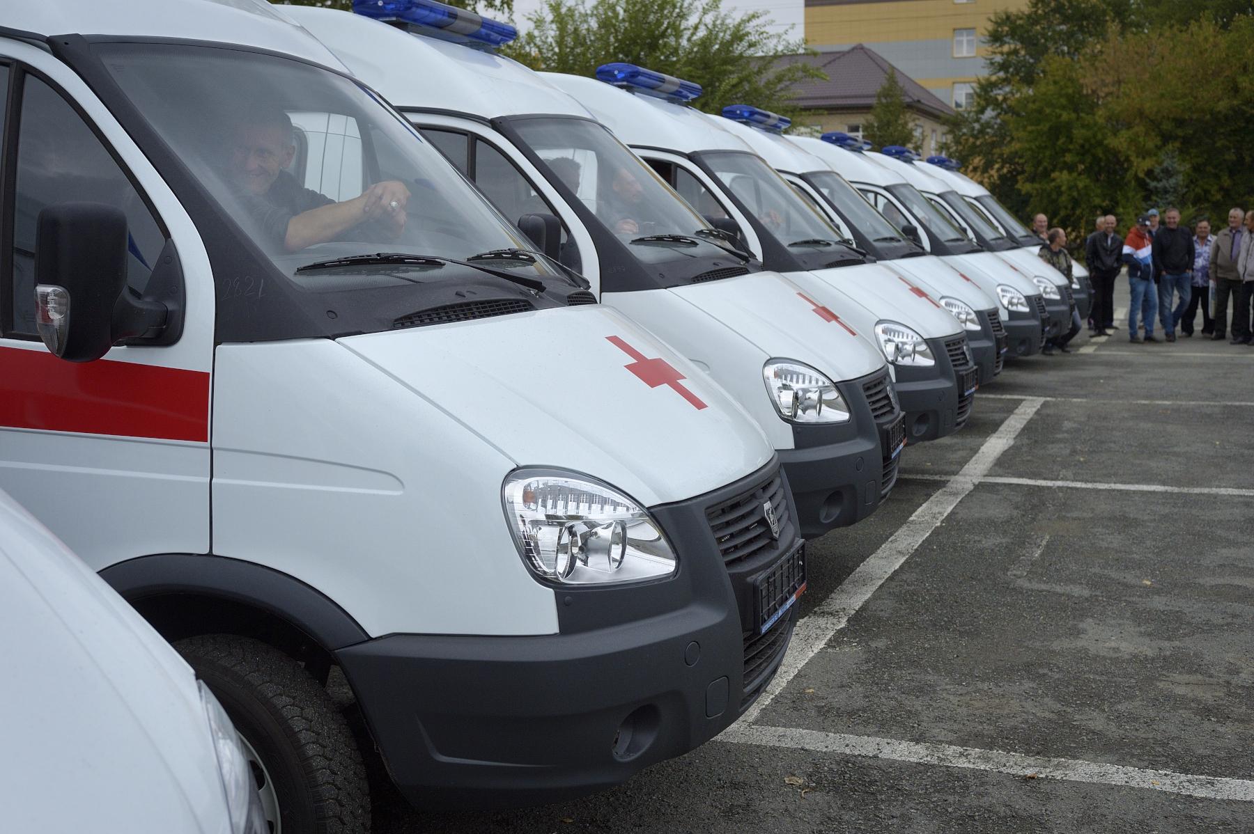 Современная скорая помощь: в Челябинской области обновлён парк спецтехники