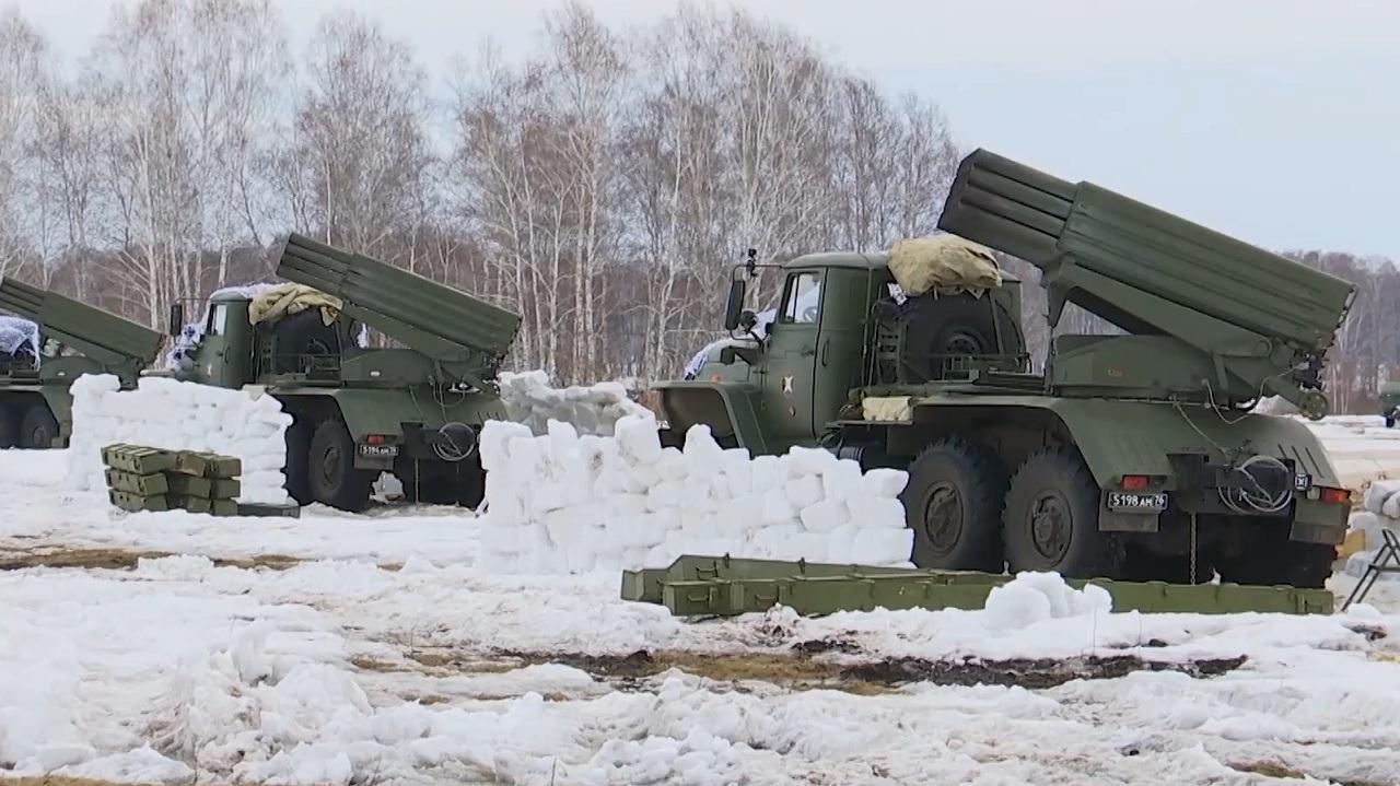 Град из огня: как под Челябинском прошли учения артиллерии ВИДЕО