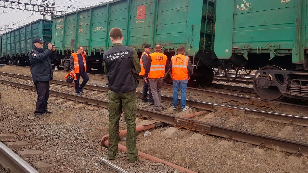 Под Челябинском сошли с рельсов 7 грузовых вагонов ВИДЕО