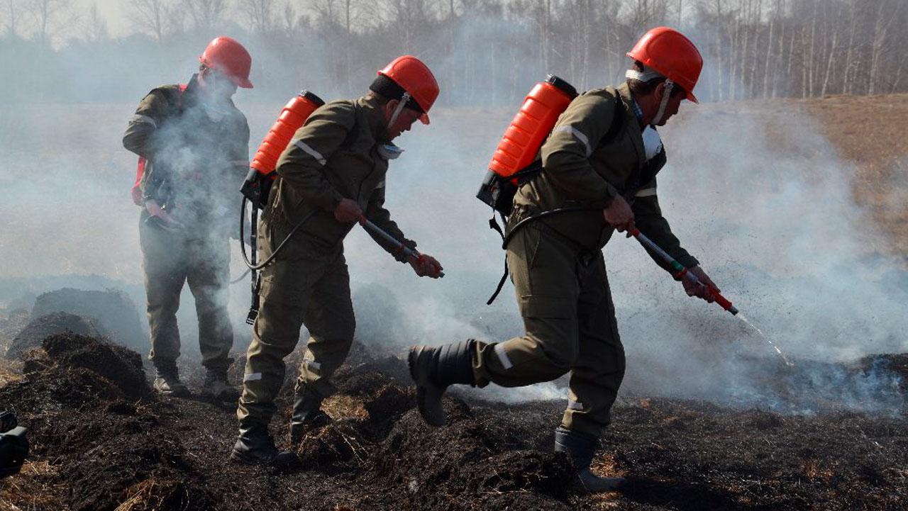 Лесничества на Южном Урале получили новую технику для тушения огня