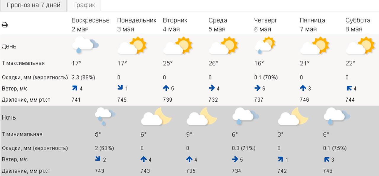 Грустный прогноз погоды: в Челябинской области обещают дождь и ветер