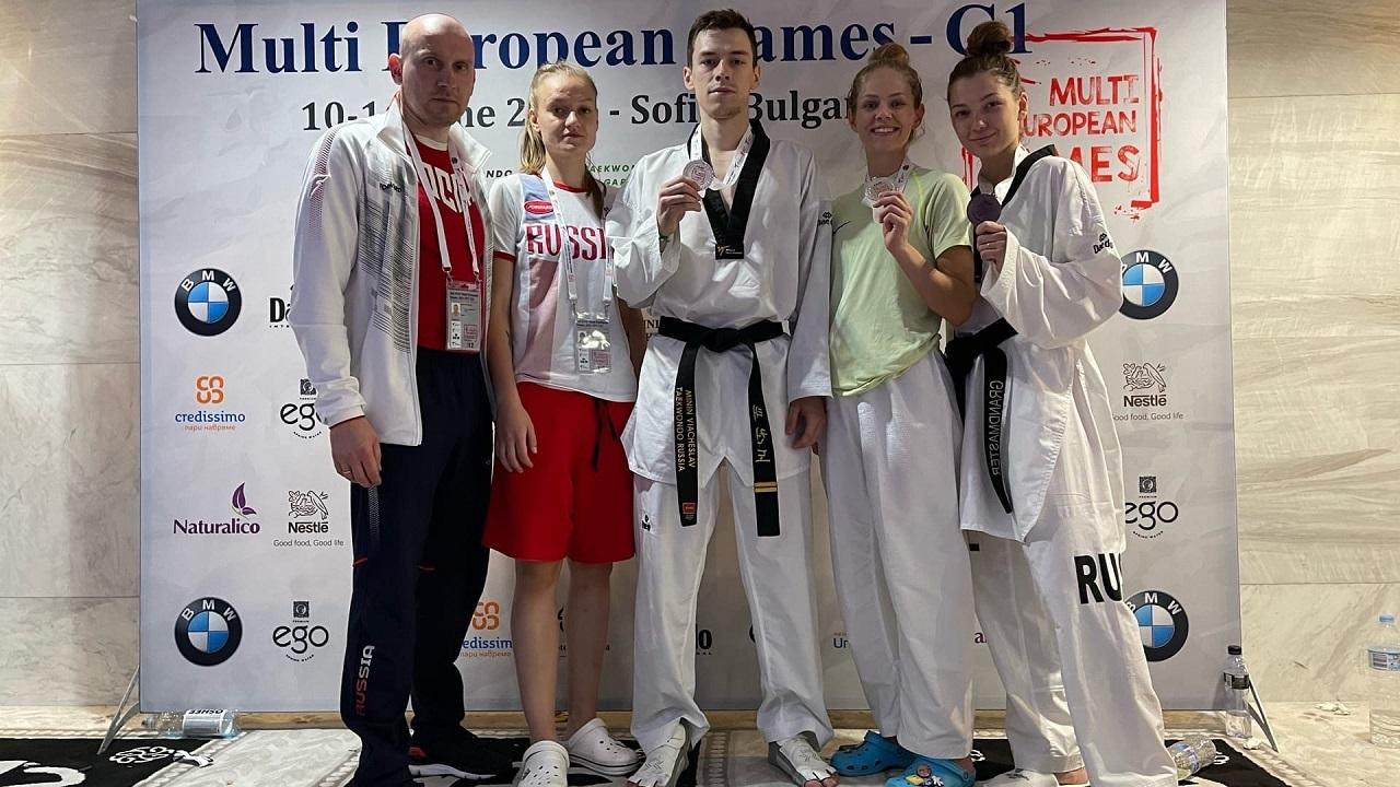 Тхэквондисты из Челябинска завоевали 3 медали престижного турнира