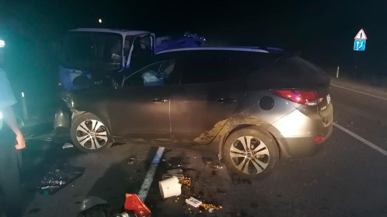Врезались в сбитую корову: 4 человека ранены в ДТП в Челябинской области