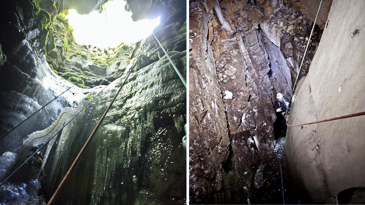 Что скрывают горы: ледяную бездонную яму нашли на Южном Урале ВИДЕО
