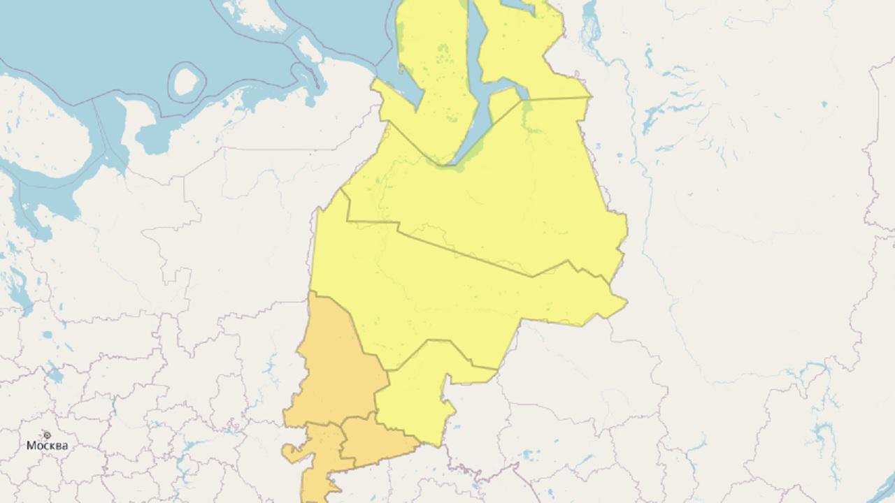 Штормовое предупреждение продлили в Челябинской области