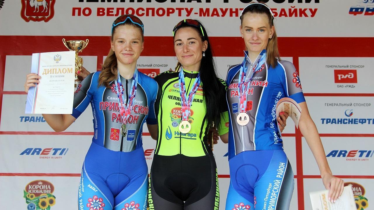 Велогонщица из Челябинской области стала чемпионкой России по маунтинбайку