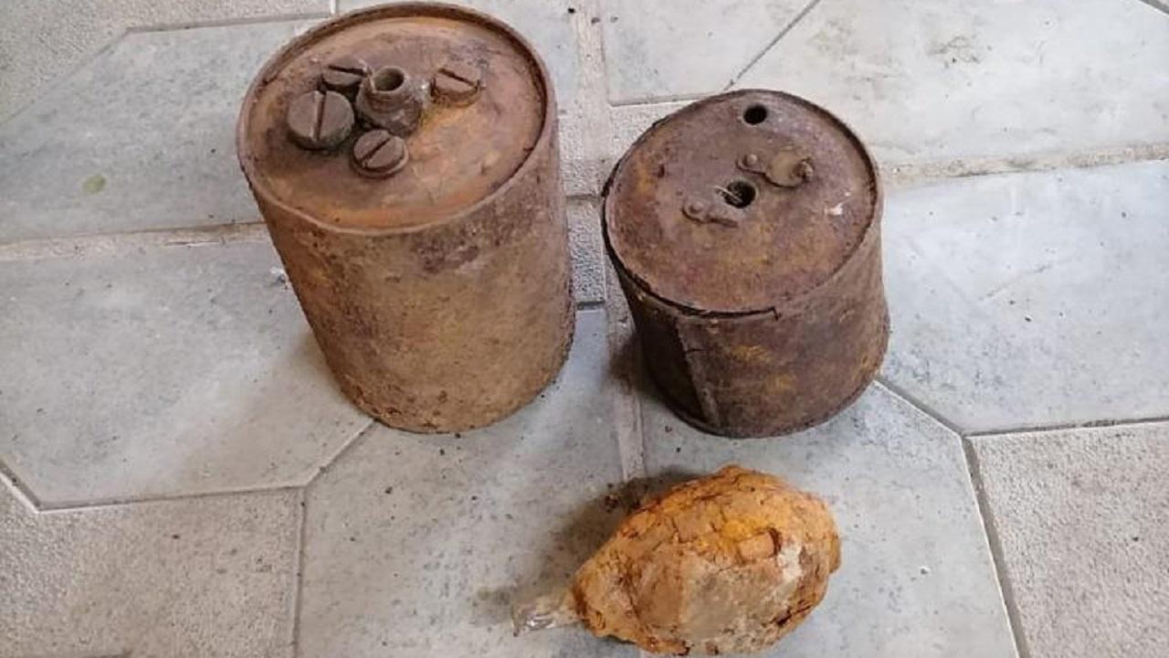 Мины и оружейный арсенал нашли в жилом дворе под Челябинском