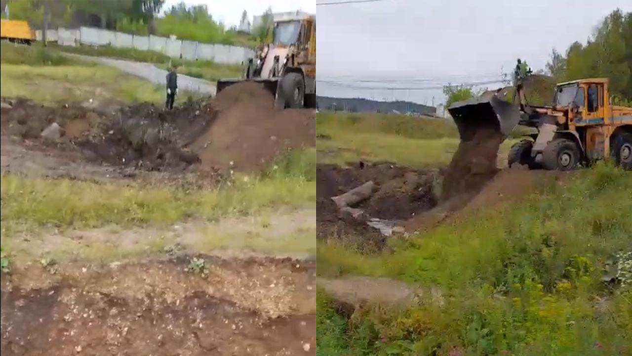 Гулял с другом: в Челябинской области ребенок утонул в огромной яме