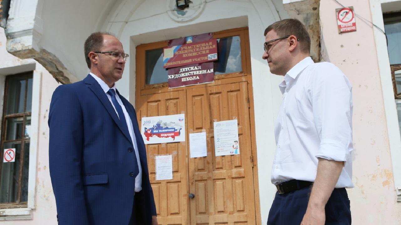 Алексей Текслер оценил преображение района в Челябинской области