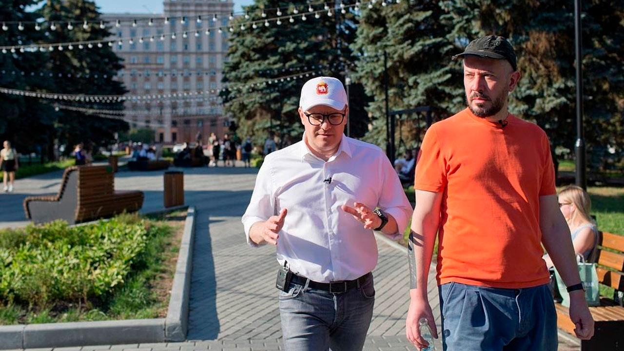 «Много интересных идей»: Алексей Текслер рассказал о встрече с дизайнером Артемием Лебедевым