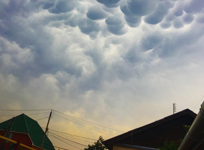 Как в страшной сказке: редкие облака заметили в Челябинской области ФОТО