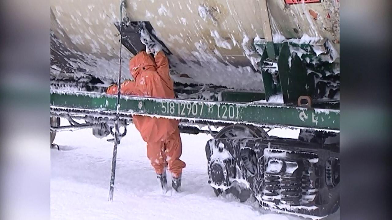 Водоем на колесах: как в Челябинской области работают пожарные поезда