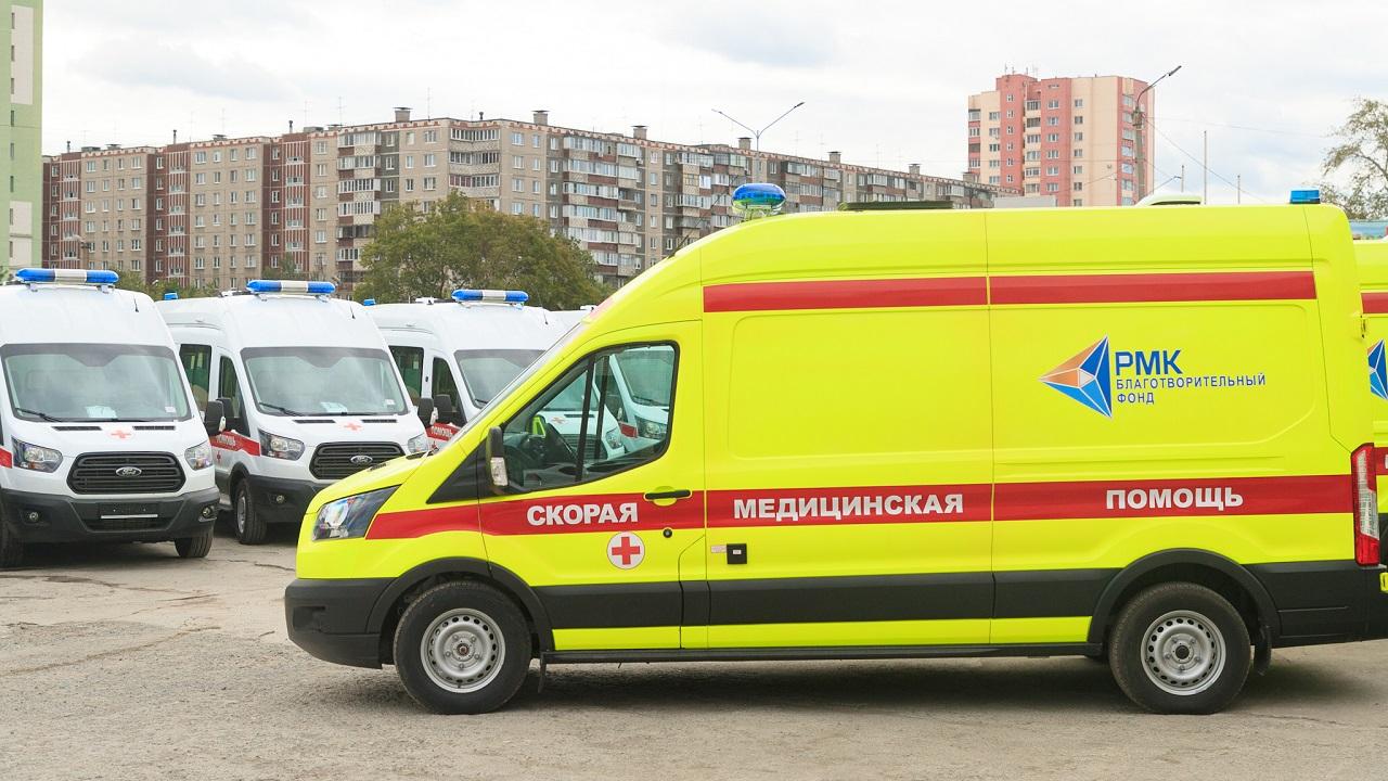 В Челябинск поступило 20 новых автомобилей скорой помощи