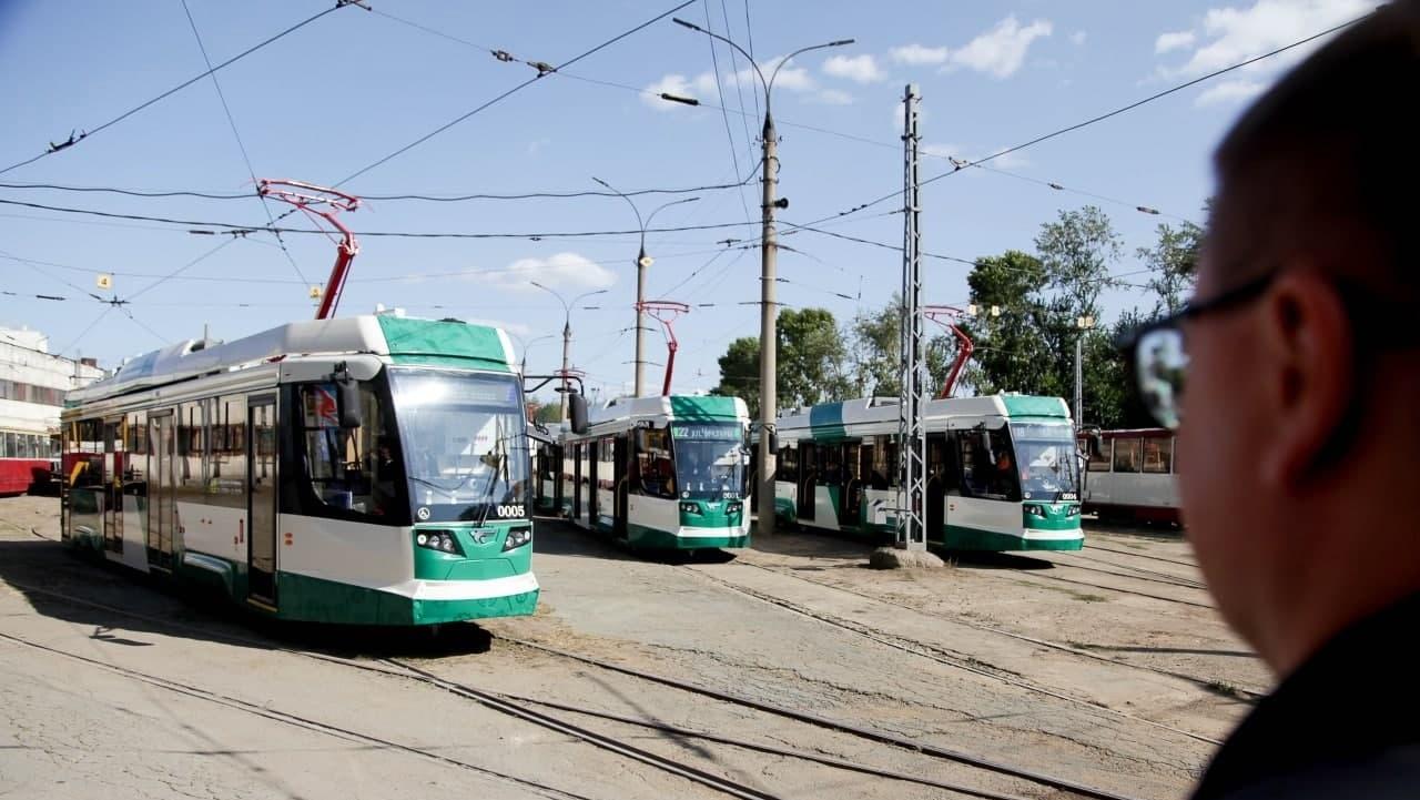 По Университетской набережной в Челябинске начнут ходить трамваи