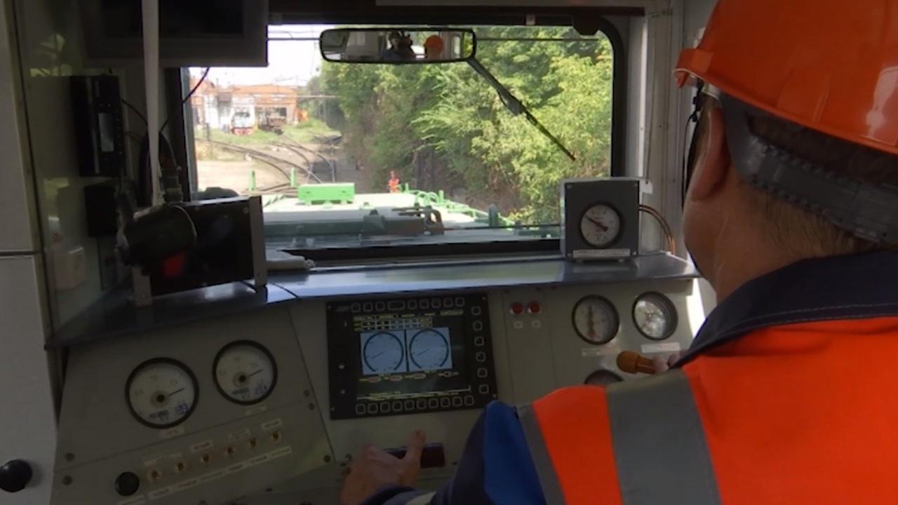 Беспилотный и газовый локомотивы испытали в Челябинской области