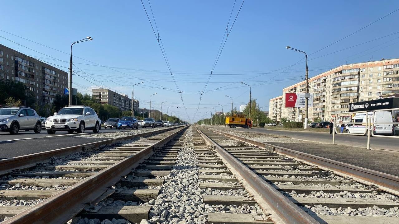Впервые за 40 лет в Магнитогорске отремонтировали трамвайные пути