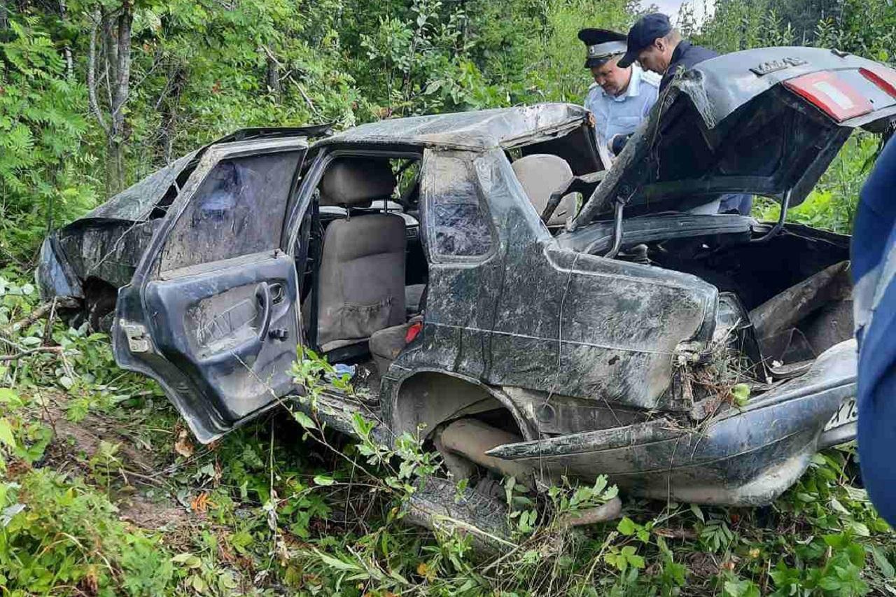 Вылетел в кювет: водитель попал в смертельное ДТП в Челябинской области