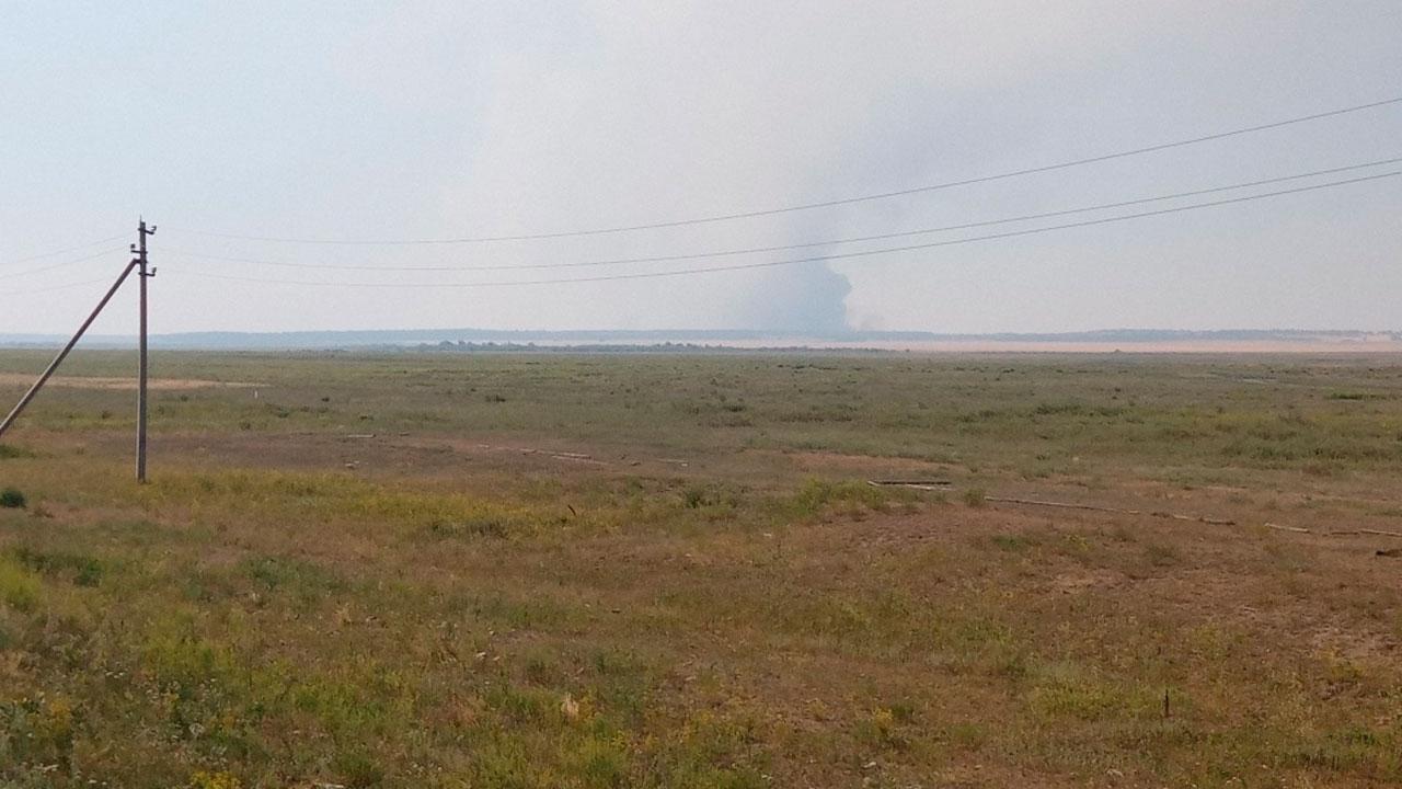 Детей вывезли из лагеря: крупный лесной пожар в Челябинской области