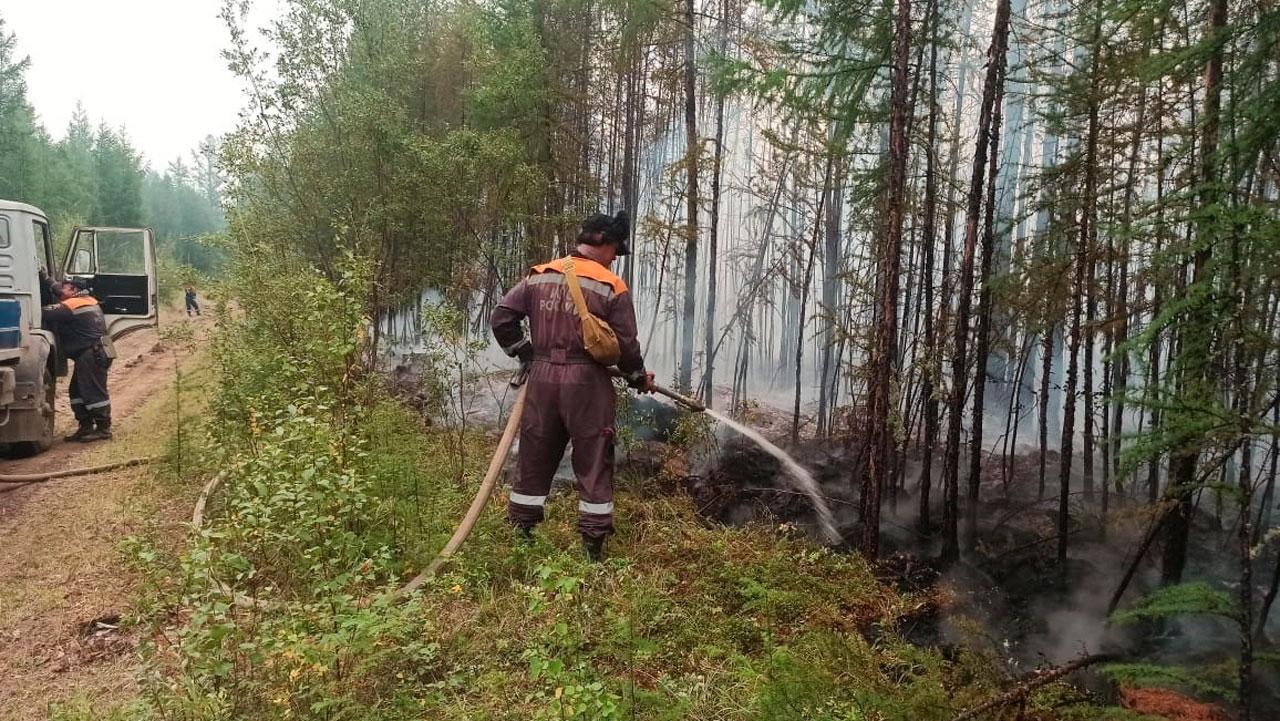 Сотрудники МЧС из Челябинской области летят в Якутию тушить лесные пожары