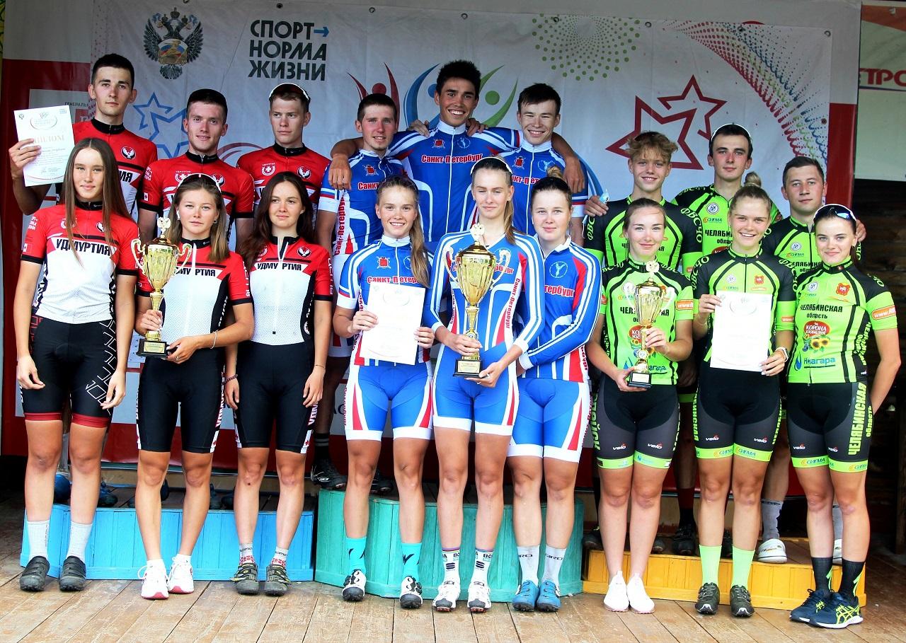 Двойной успех: велогонщики из Челябинской области завоевали медали Спартакиады
