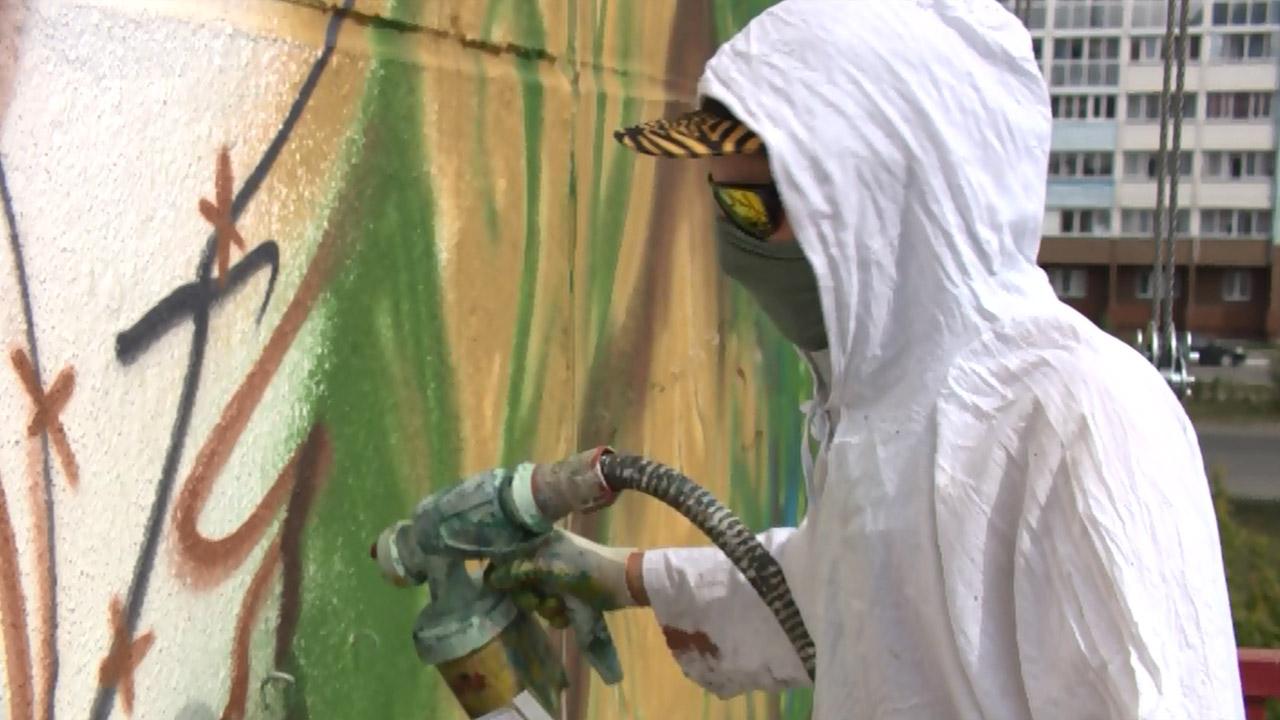«Наш MURAL»: как проходит фестиваль граффити в Челябинской области