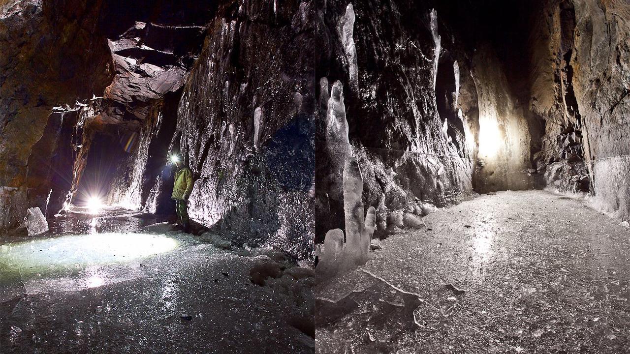 Вечная зима: на Урале найдено тайное место, где никогда не тает лед