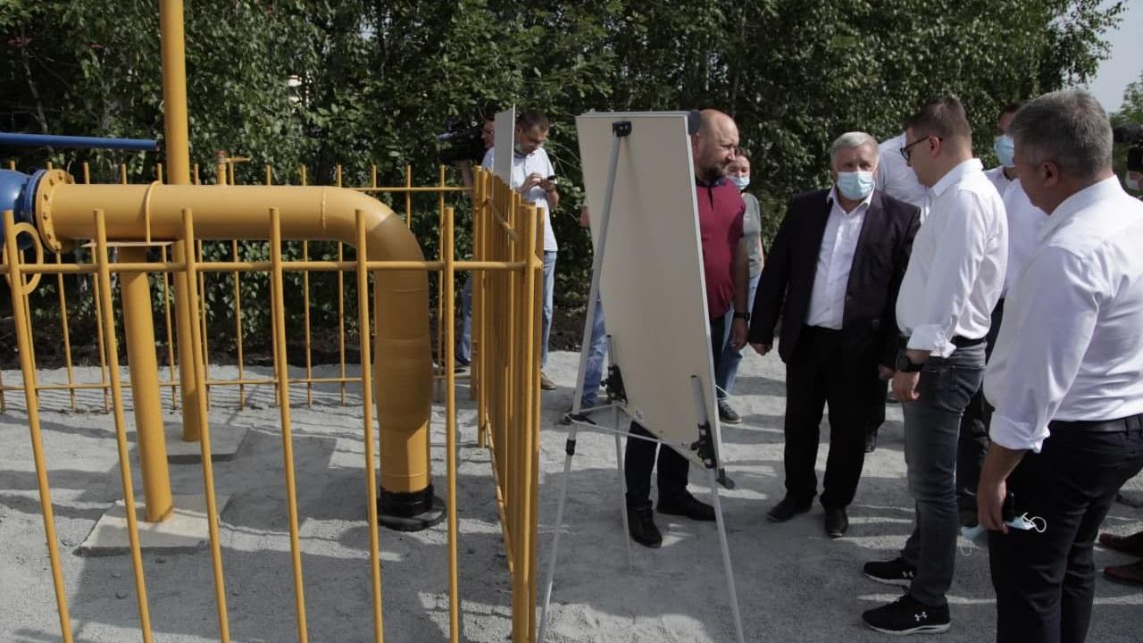 Губернатор Текслер поручил ускорить подачу газа жителям Сосновского района